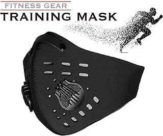 AlbinoSports アスリート トレーニングマスク 持久力 肺活量向上 フィットネスマスク 低酸素マスク 呼吸筋トレーニング ダイエットマスク