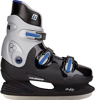 Nijdam Hockey Schaatsen voor heren (EU 41  zwart grijs blauw)
