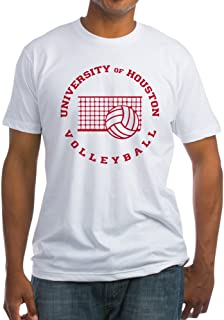 CafePress University of Houston Volleyball Fitted Tee