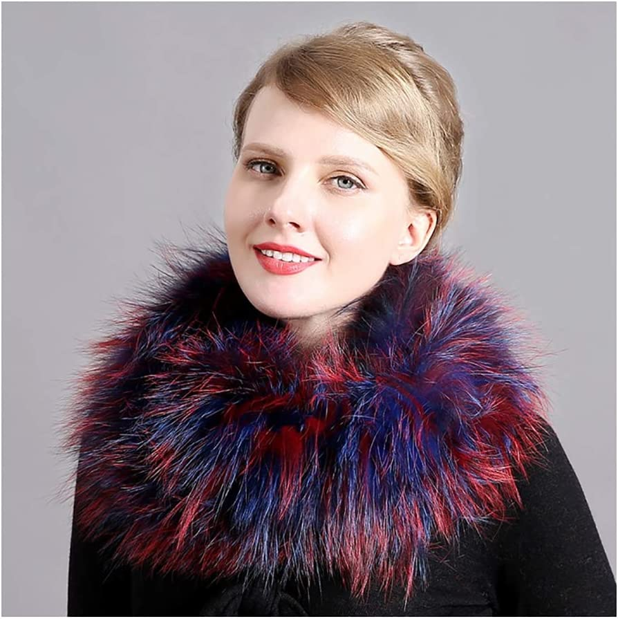 Special price for a limited time Autumn Cold Protection Fixed price for sale Fox Fur War Skin-Friendly Neck Scarf Keep
