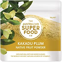 Kakadu Plum Freeze Dried Powder   100 Percent Natural no Added Sugar   the World's Richest Natural Source of Vitamin C by the Australian Superfood Co   30 Gram