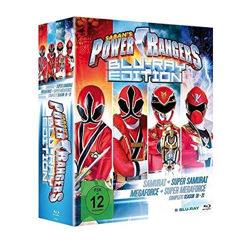 Power Rangers - Season 18-21 [Blu-ray]