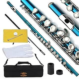 coloured flute