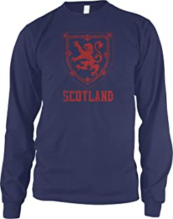 Men's Royal Arms of Scotland Long Sleeve Shirt