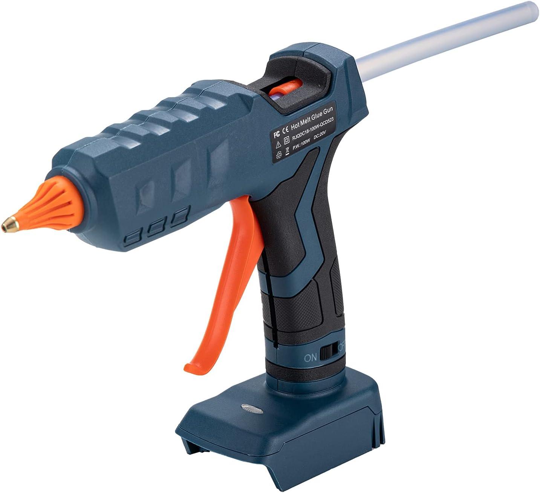 Hot Melt Glue Gun for Black Tempera size Superior full decker Ranking TOP8 20V High