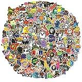 300PCS Cool Stickers, Waterproof Laptop Stickers Decals for Water Bottle Skateboard Helmet Bicycle Stickers, Trendy Vinyl Stickers for Adults