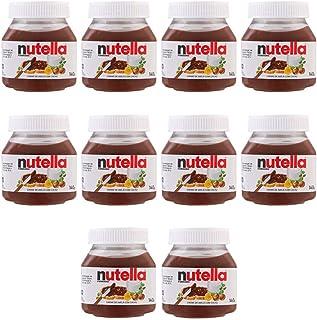 Kit 10 Creme de Avelã Nutella 140g - Ferrero