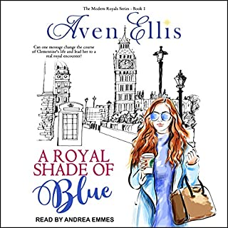 A Royal Shade of Blue audiobook cover art