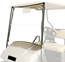 Buggies Unlimited Universal Roll Up Portable Golf Cart Vinyl Windshield