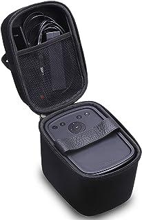 Aproca Hard Travel Case Compatible Anker Nebula Mars/Mars II 300 ANSI lm Portable Projector (Black-New Version) (Black) Black