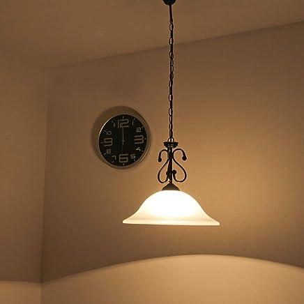 Amazon.es: lámparas rusticas de techo - Licht-Erlebnisse ...