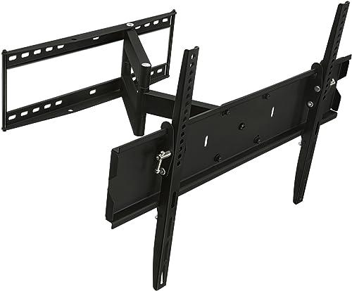 Mount-It! Full Motion TV Wall Mount Bracket for Flat Screen 32 39 40 42 43 45 48 49 50 55 60 65 Inch 4K LCD LED OLED ...