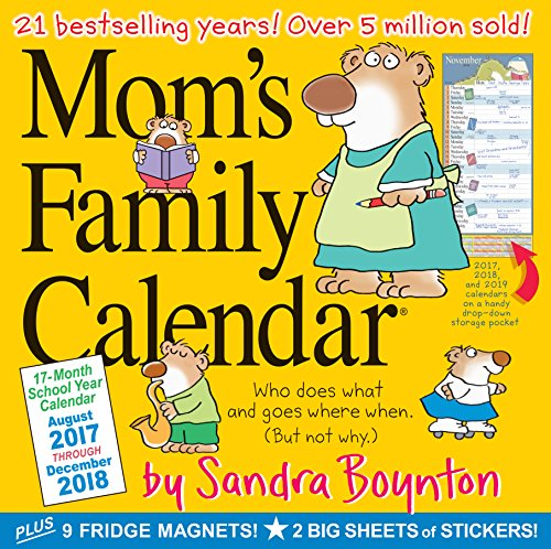 Mom's Family Wall Calendar 2018