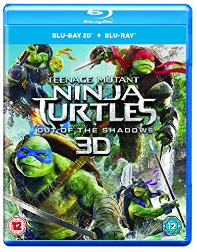Teenage Mutant Ninja Turtles: Out Of The Shadows (Blu-ray 3D + Blu-ray) [2016] UK-Import, Sprache-Englisch