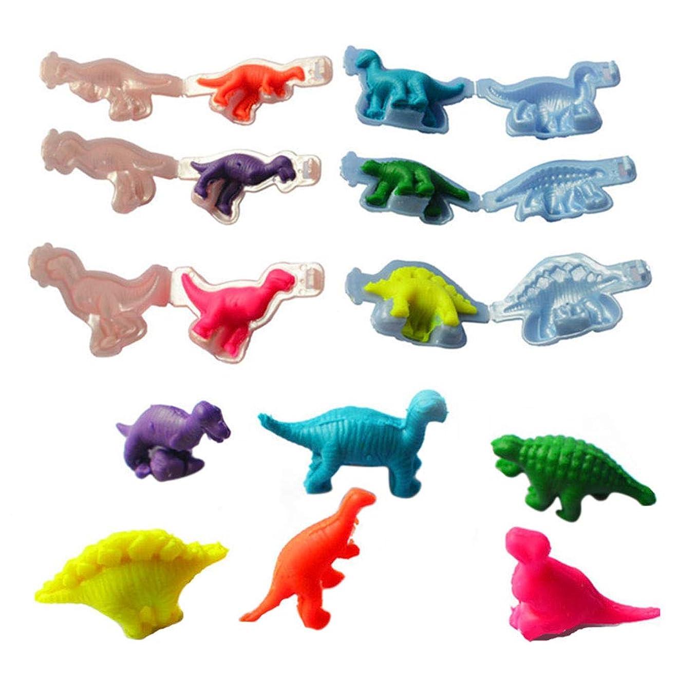 パステル孤独チャットJAGETRADE 恐竜プラスチシン金型ツールDIY粘土金型玩具キット生地モデリング粘土玩具
