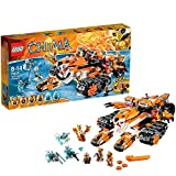 LEGO Legends Of Chima - Playthèmes - 70224 - Jeu De Construction - La Base Mobile De Combat