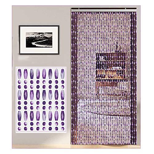 YANGJUN Kristall Türperlen Vorhänge, rustikale hängende Schnüre Tür Raumteiler für Wohnzimmer, Schrank, 3...