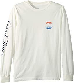 Good Times Rainbow Long Sleeve Tee (Big Kids)