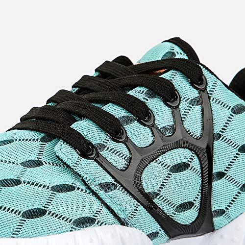ALEADER Women's Lightweight Mesh Sport Running Shoes Light Blue 9 D(M) US