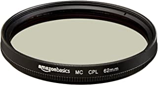 Amazonベーシック レンズフィルター カメラレンズ 円偏光フィルター 62mm CF02-NMC16-62