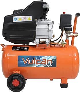 Compressor de Ar 8,0 Pés 25 Litros 2,5HP 160L/m com 2 Saídas 220V-VULCAN-VC25