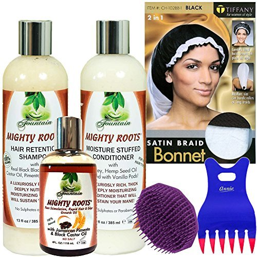 Fountain Mighty Roots Hair Retention System with Jamaican Pimento and Black Castor Oil