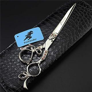 Hair Cutting Schaar Pet Schaar 7,0 Inch 440C Roestvrijstalen Rechte Shears, High Quality Kapper Tools for Salon En Familie...