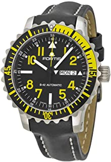 Fortis 670.24.14 L.01 B-42 Marinemaster Day/Date Yellow Mens Automatic Watch