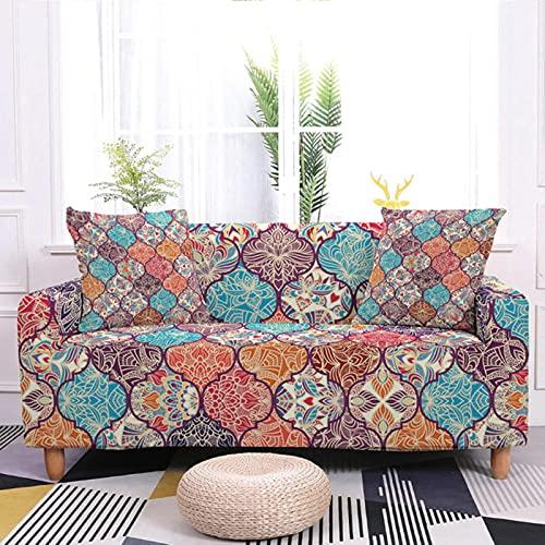 Wefeelm Fundas elásticas para sofá para sala de estar antideslizante sofá funda protectora de silla 1/2/3/4 plazas
