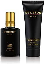 Stetson Black 2pc Set - 1.5oz Cologne Pour + 3.4oz After Shave Balm with Aloe