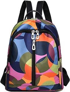 Schoolbag Color Matching Handbag Wild Fashion Cool Student Backpack Laptops Backpacks by nikunLONG