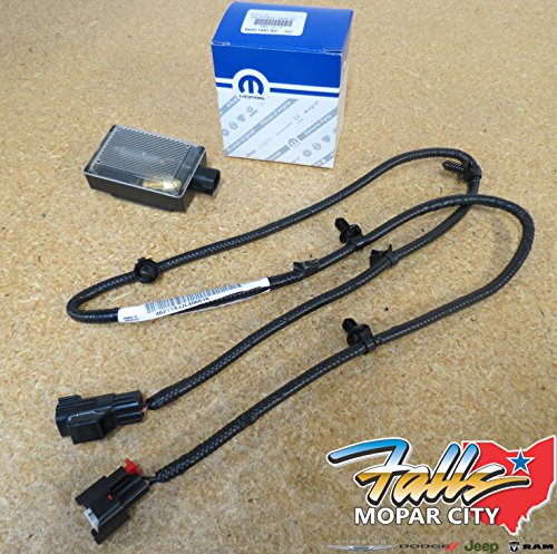 2012-2016 Dodge Ram Under Hood Light Lamp & Harness Kit OEM Mopar
