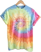 Era of Artists, LLC Chill Out Pastel Tie-Dye Graphic Unisex Tee