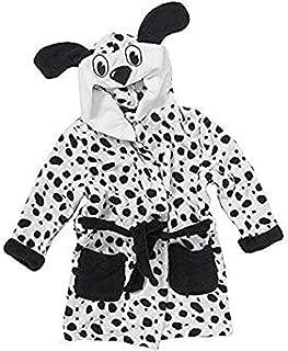 KIDS ANIMAL COW PENGUIN BATH ROBES Soft Fleece Hooded Winter Christmas Pyjamas