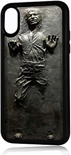 CASE LOCK LTD -SW Yoda Darth Vader Han Solo Luke Skywalker Chewbacca Stormtrooper - Hard Hard Rubber case Compatible with Apple iPhone 11 Pro MAX (6.5 inch 2019 Model) Includes 3 Screen Protectors