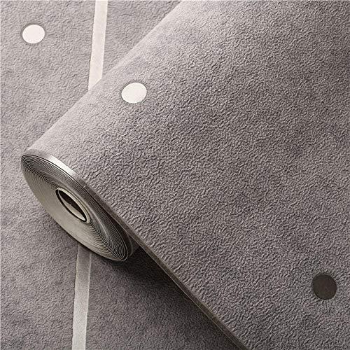 Marmor gestreifte Tapete moderne minimalistische selbstklebende atmungsaktive Wohnzimmer TV Hintergrund 3D Schlafzimmer Tapete-Niet hellblau-grau