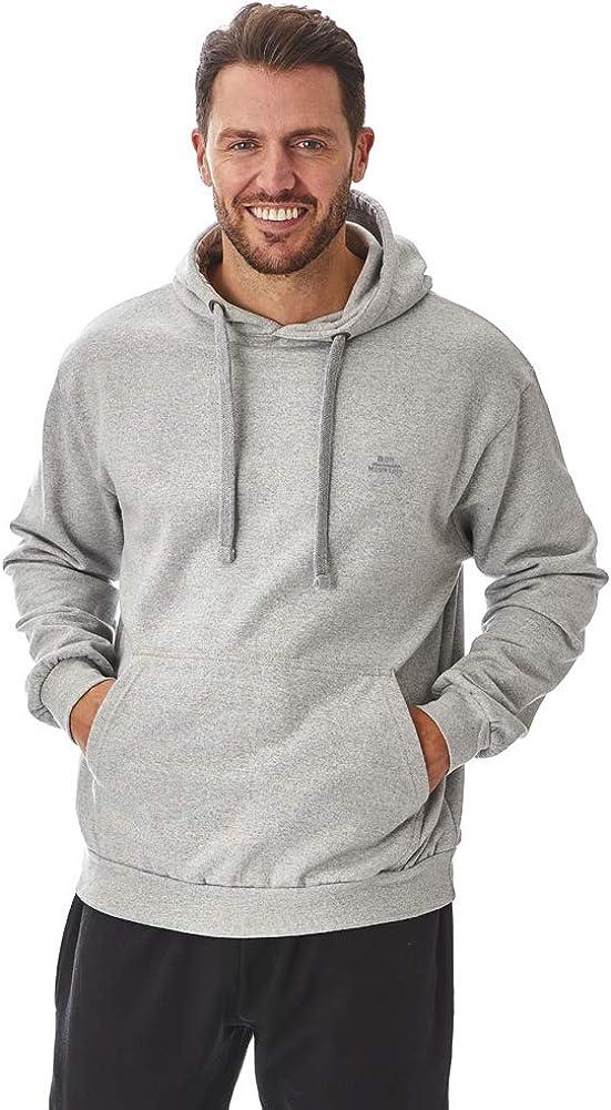 Iron Mountain R/ég/én/ér/ées Souple en Polaire Pull /À Capuche Plus Hooded Sweatshirt Homme