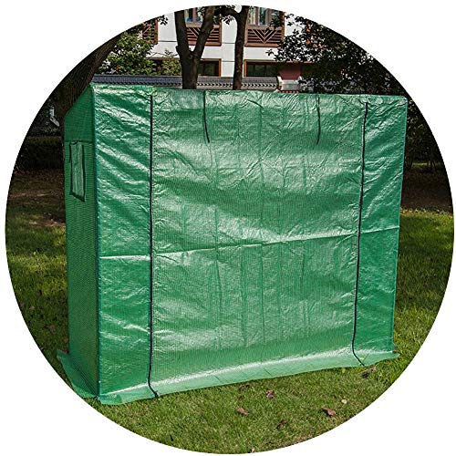 Tomato Garden Growhouse, with Zipper, Green Large Metal Tomato Tent and Grow House, for Outdoor Indoor