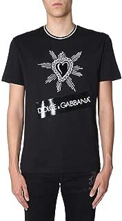 Dolce e Gabbana Luxury Fashion Mens G8KD0TG7LSYN0000 Black T-Shirt | Fall Winter 19