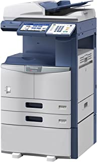 Toshiba E-STUDIO 356 Black and White MFP Copier/Printer/Scanner All-in-One - 11x17, 35ppm, Copy, Print, Scan, Network, Duplex, USB, 2 Trays and Cabinet