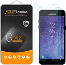 (2 Pack) Supershieldz for Samsung (Galaxy Express Prime 3) Tempered Glass Screen Protector, Anti Scratch, Bubble Free