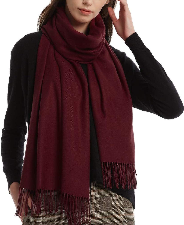 Cashmere Feel Large Scarf Oversize Wrap Shawl Scarves FURTALK