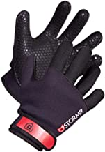Stormr Strykr 2mm Neoprene Women and Men's Glove - Fully Lined Micro-Fleece Gloves with Adjustable Wrist Closures - Ideal for Ice Fishing, Winter Conditions, and Foul Weather, S
