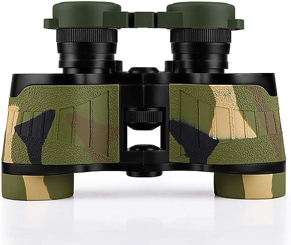 XINKONG Jumelles Jumelles Professionnelles Haut de Gamme 8x32 HD Zoom Vision Nocturne imperméable et légère à l'observation des Oiseaux