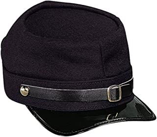 American Civil War Kepi Adjustable Army Hat Wool (Union (Navy))