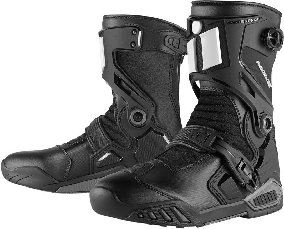 Icon Raiden DKR Boots: Amazon.co.uk