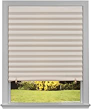 """Original Light Filtering Pleated Paper Shade Natural, 36"""" x 72"""", 6-Pack"""