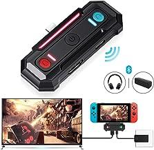 Adaptador Bluetooth de baja latencia para Nintendo Switch,Transmisor de doble función 2 en 1 que Admite Video y Audio ,interfaz HDMI/Type-C,Compatible con Bluetooth 5.0 Auriculares y Altavoces