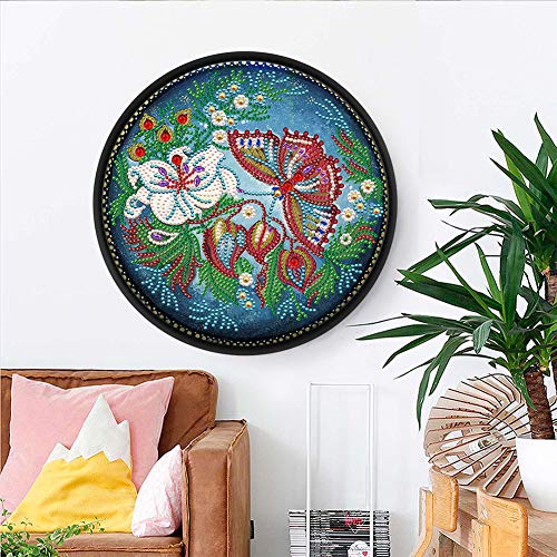 ACHICOO Home Dekorative Mandala Blume Tier Wandbild Quaste DIY Diamant Malerei Anhänger Handmade Craft YKH102