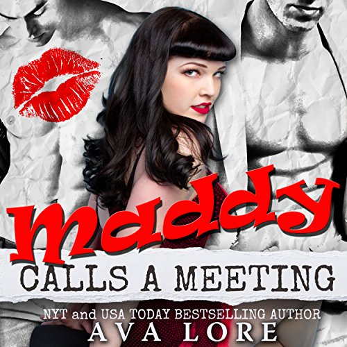 Maddy Calls A Meeting audiobook cover art